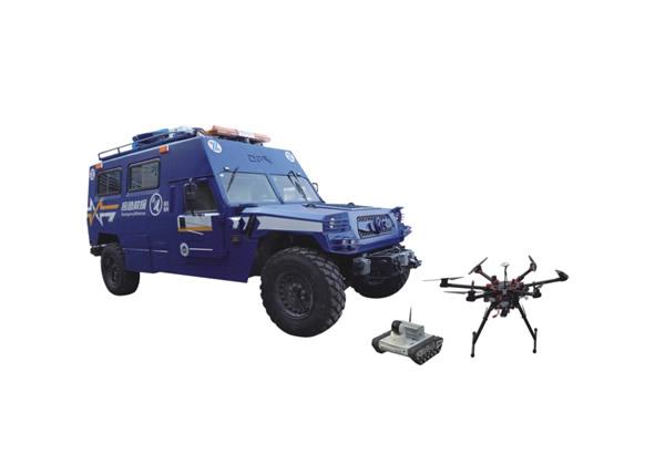 應急救援通訊指揮車